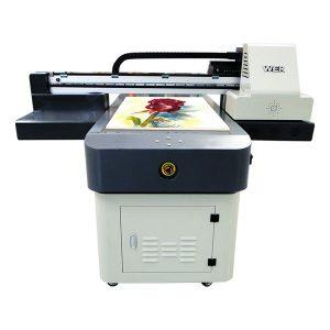 Máquina de impresión de envasado uv 3d máquina de impresión de embalaxe de papel metal madeira pvc