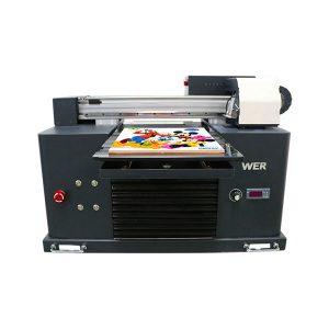 Especificacións Uso: Tipo de tarxeta de impresora de tarxeta: Impresora plana Estado: Novas dimensións (L * W * H): 65 * 47 * 43 CM Peso: 62 kg Grao automático: Tensión automática: AC220 / 110V Garantía: 1 ano Impresión dimensión: 16,5x30 CM Tipo de tinta A4 SIZE: nome de produtos LED de tinta UV: Pequena impresora Tamaño A4 Máquina de impresión dixital Tinta plana para impresora UV: tinta LED UV Altura de impresión: 0-50 mm Sistema de tinta: sistema CISS Cores de tinta: CMYKWW Número de toberas: 90 * 6 = 540 Software de impresión: WINDOWS SYSTEM EXCEPTO WIN 8 Voltaxe :: AC220 / 110V Potencia bruta: 30W