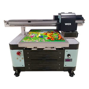 Impresora plana de tamaño uv A2 para caixa de metal / teléfono / vidro / pluma / caneca