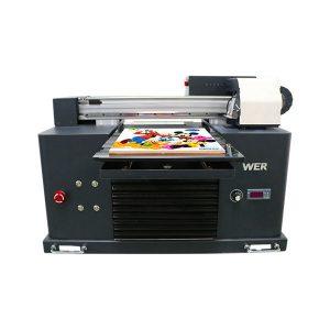 A3 tamaño completo automático de 4 cores dx5 impresora cabeza mini impresora uv dtg uv flatbe