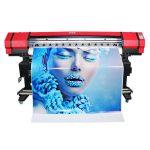 Impresora inxección de tinta disolvente en formato ancho de 6 cores