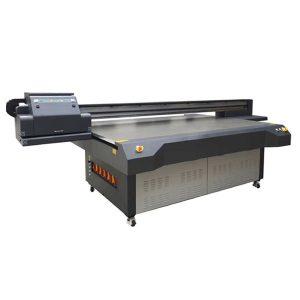 máquina de impresora plana levou uv sobre vidro artesanal