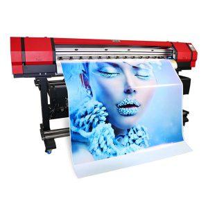 Impresora de vinilo de PVC de pequeno tamaño solvente ao aire libre de 1,6 m