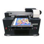 Impresión inxección de tinta dixital a2 a3 de gran formato uv flatbed printer