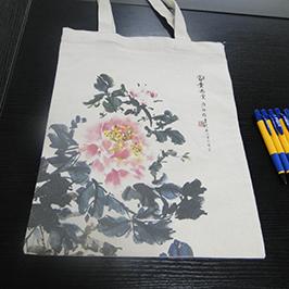 Impresión de saco de lona por impresora de camiseta A2 WER-D4880T