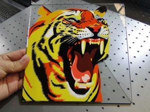 solución de impresión de vidro