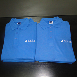 Camisa de polo mostra de impresión personalizada pola impresora de camiseta A3 WER-E2000T