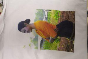 Mostra de camisetas para o cliente de Birmania da impresora WER-EP6090T