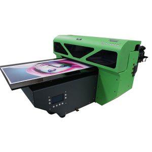 a2 pequeno formato impresora plana de uv con 1 pcs cabeza de impresión dx5