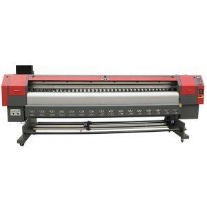 pequena impresora en vinilo con disolvente ecolóxico